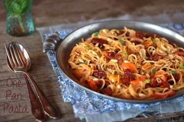 recette express one pan pasta photo maryse et cocotte