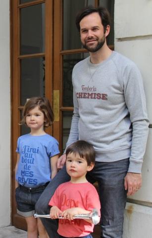 sweat-shirt deux amours