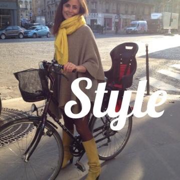 le style fou de la parisienne maman entrepreneuse