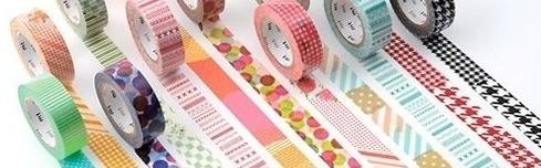 le masting tape ou ruban japonais meilleur ami des décos faciles