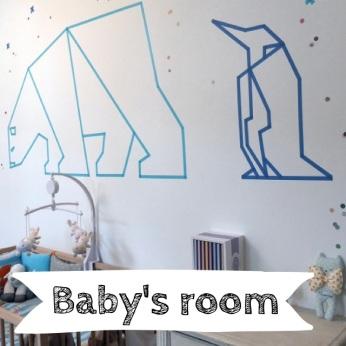 idée diy deco masking tape chambre enfant