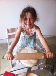 les enfants au travail en cuisine