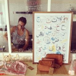 le concept store lyoum et sa co-fondadrice Claire